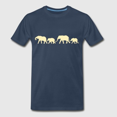 elephant Family - Men's Premium T-Shirt