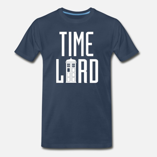 Timelord T-Shirts - Time Lord - Dr. Who - Men's Premium T-Shirt navy