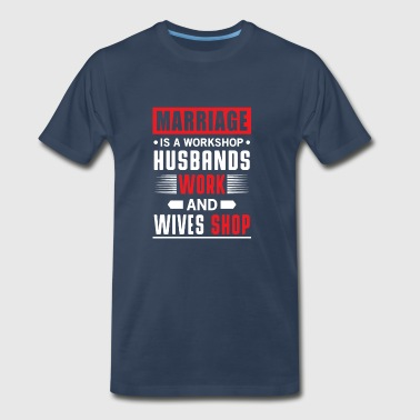 Marriage workshop - Men's Premium T-Shirt
