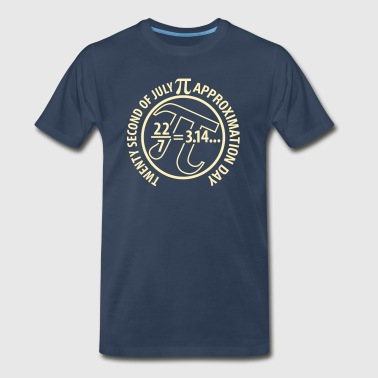 Pi Approximation Day Pi Approximation Day - Men's Premium T-Shirt