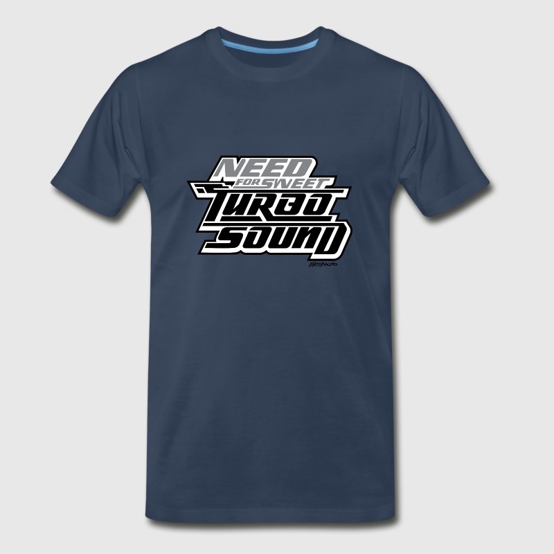 Need For Sweet Turbo Sound - Men's Premium T-Shirt