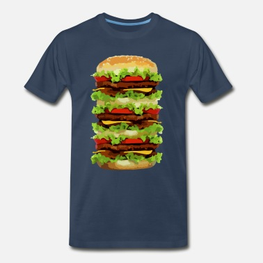 Hamburg XXL Hamburger - Men's Premium T-Shirt
