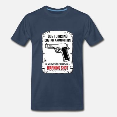 Warning Shoot Warning Shoot - Men's Premium T-Shirt