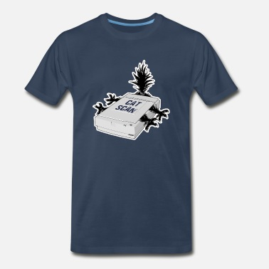 Scan Cat Scan - Men's Premium T-Shirt