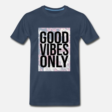 good vibes only oriental - Men's Premium T-Shirt