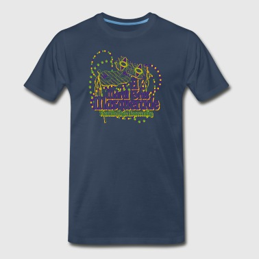 A Mardi Gras Masquerade Franklin High Homecoming - Men's Premium T-Shirt
