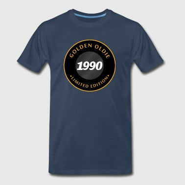 1990 Birthday Birthday 1990 Golden Oldie - Men's Premium T-Shirt