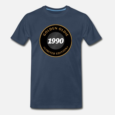 Golden Oldie Birthday 1990 Golden Oldie - Men's Premium T-Shirt
