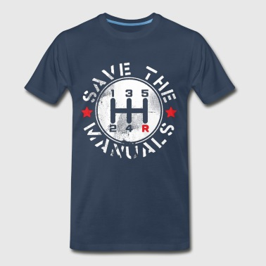 save manual transmission - Men's Premium T-Shirt