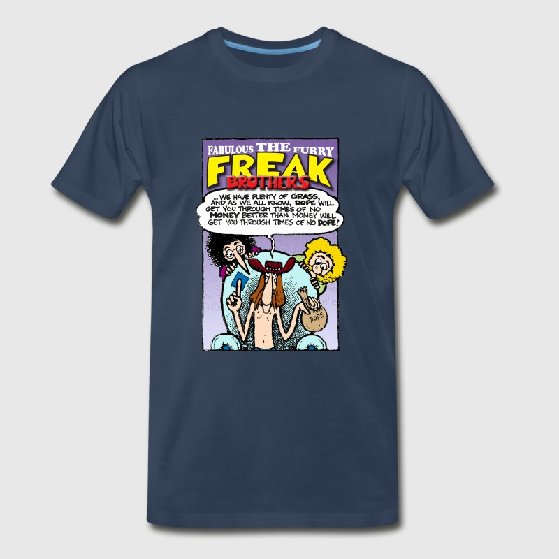 Fabulous Furry Freak Brothers Dope Quote - Men's Premium T-Shirt