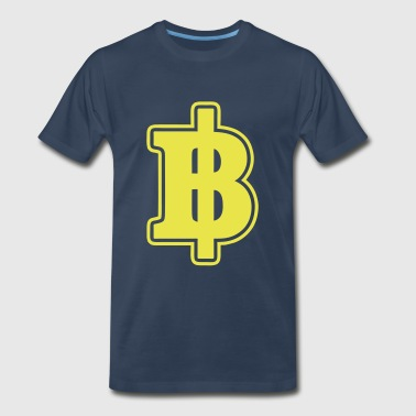 Baht Sign / Symbol Thai / Thailand Money / Currency - Men's Premium T-Shirt