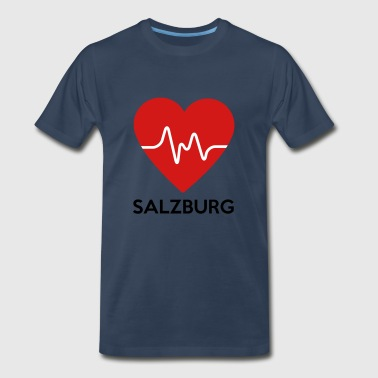 Heart Salzburg - Men's Premium T-Shirt