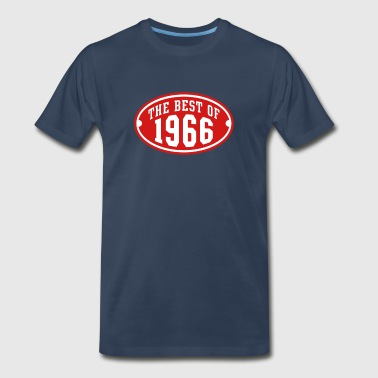 Best Of 1966 THE BEST OF 1966 2C Birthday Anniversary - Men's Premium T-Shirt