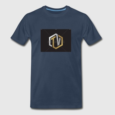Travis V YouTube logo - Men's Premium T-Shirt