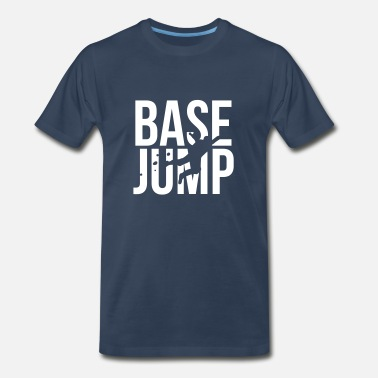 Skydiving Base Jumping BASE jump - Men's Premium T-Shirt