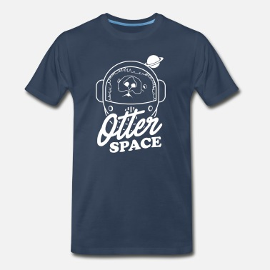 In Otter Space Otter Space - Men's Premium T-Shirt