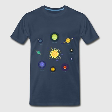 all the planets - Men's Premium T-Shirt