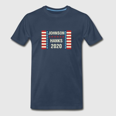 Johnson/Hanks 2020 - Men's Premium T-Shirt