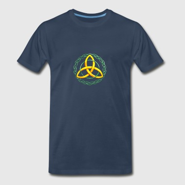 Irish Celtic Trinity Knot T-Shirt - Men's Premium T-Shirt