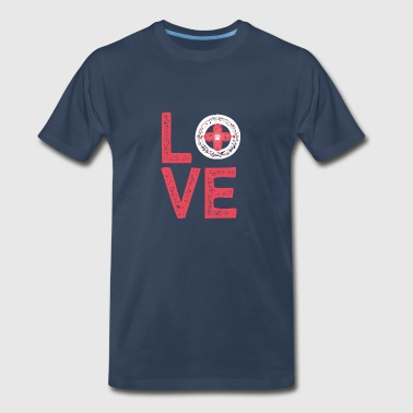 Vet Love - Veterinarian - Tech - Animal Lover - Men's Premium T-Shirt