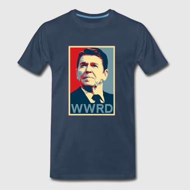 What Would Reagan Do - Men's Premium T-Shirt