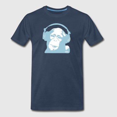 DJ Monkey (use Digital Direct) - Men's Premium T-Shirt