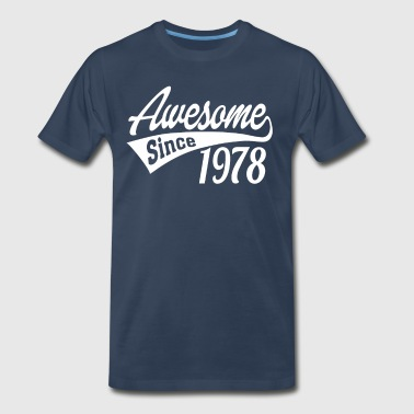 1978 Awesome Since 1978 - Men's Premium T-Shirt