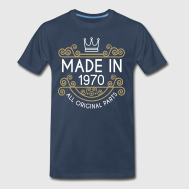 Made In 1970 All Original Parts - Men's Premium T-Shirt