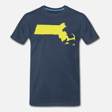 Massachusetts Massachusetts - Men's Premium T-Shirt