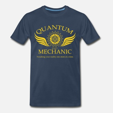 Geek QUANTUM MECHANIC-O - Men's Premium T-Shirt