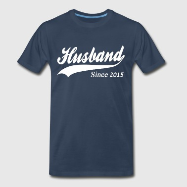 Husband Since 2015 - Men's Premium T-Shirt