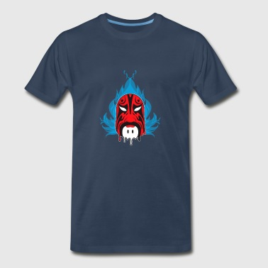 Chinese Opera Mask II - Men's Premium T-Shirt