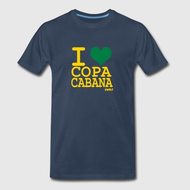 i love Copacabana by wam - Men's Premium T-Shirt