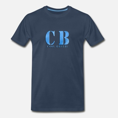Breeze Cool Breeze Logo - Men's Premium T-Shirt