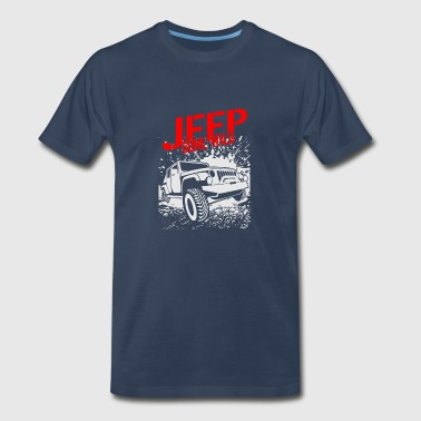 Jeep Gone Wild 03 - Men's Premium T-Shirt