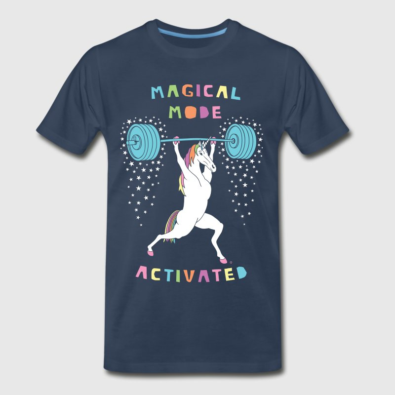 Magical Mode Unicorn - Men's Premium T-Shirt