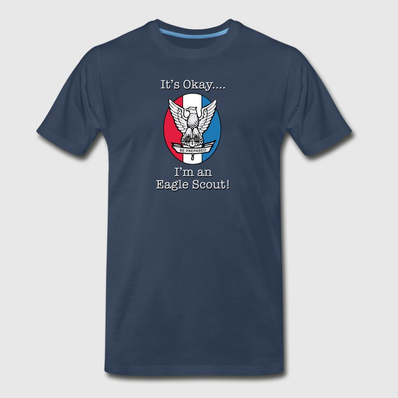 Eagle Scout (Dark) - Men's Premium T-Shirt