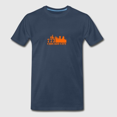 773 CHICAGO CITY - Men's Premium T-Shirt