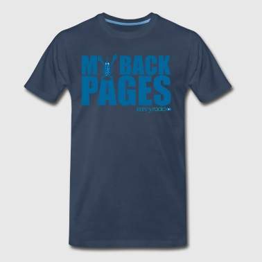 My Back Pages logo - Men's Premium T-Shirt