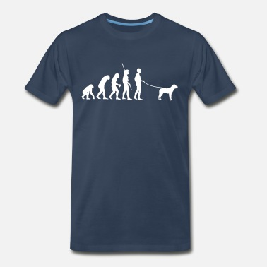 Pug Evolution Evolution Dog - Men's Premium T-Shirt