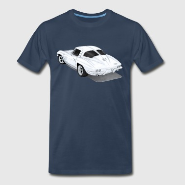 1963  Corvette Stingray - Men's Premium T-Shirt