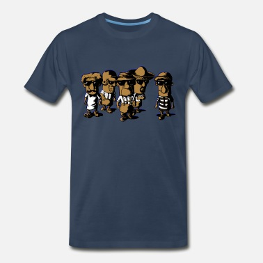 18386f4a92e42 Milwaukee Brewers RESERVOIR SAUSAGES - Men's Premium T-Shirt