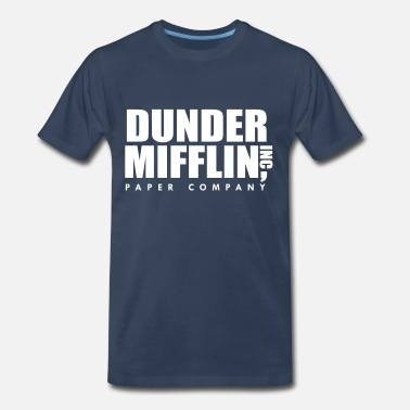 Dunder Mifflin Inc, The Office - Men's Premium T-Shirt
