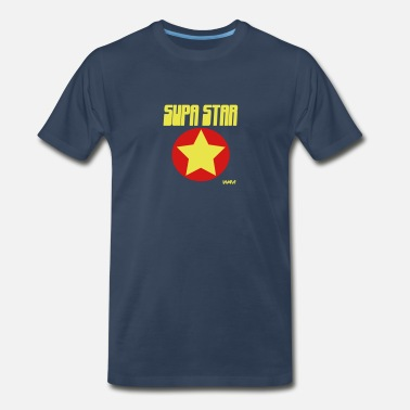 Supa Star supa star by wam - Men's Premium T-Shirt