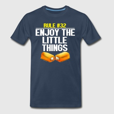 Twinkies Zombieland - Enjoy The Little Things - Men's Premium T-Shirt