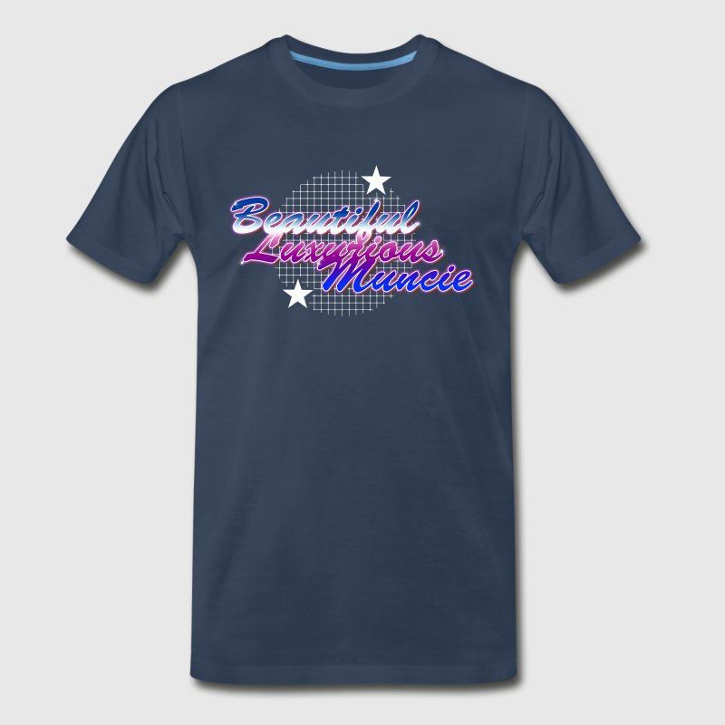 Beautiful Luxurious Muncie - Men's Premium T-Shirt