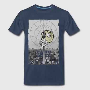 SmileyWorld - Berlin TV Tower - Men's Premium T-Shirt
