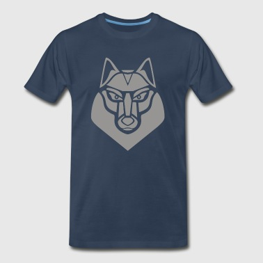 Gray Wolf - Men's Premium T-Shirt