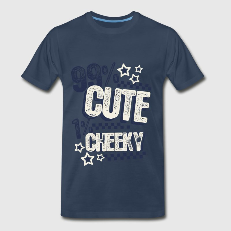 Cute and Cheeky - Men's Premium T-Shirt