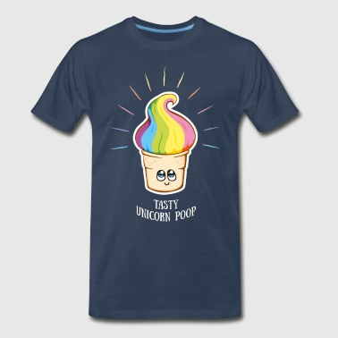 unicorn shirt, unicorn poop - Men's Premium T-Shirt